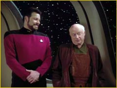 Richard Galen et William Riker