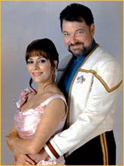 William Riker et Deanna Troi