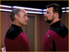 William Riker et Erik Pressman