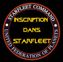 Inscription à Starfleet