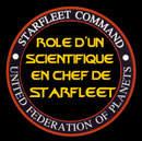 Rôle d'un Scientifique en Chef de Starfleet